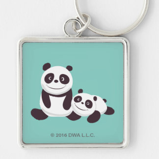 Baby Pandas Key Ring
