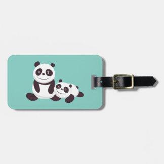 Baby Pandas Luggage Tag