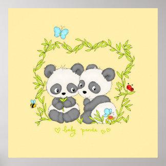 Baby Panda's Poster