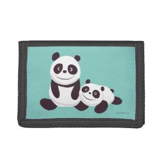 Baby Pandas Tri-fold Wallet