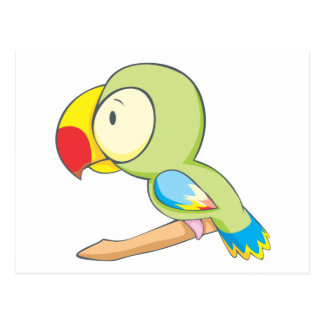 Baby Parrot Postcard
