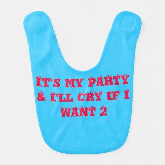 Baby Party Bib