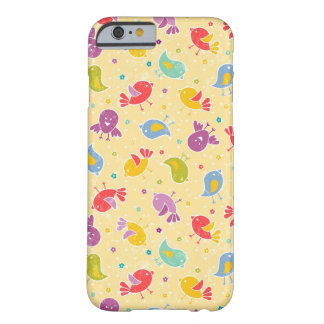 Baby pattern with cute birds barely there iPhone 6 case