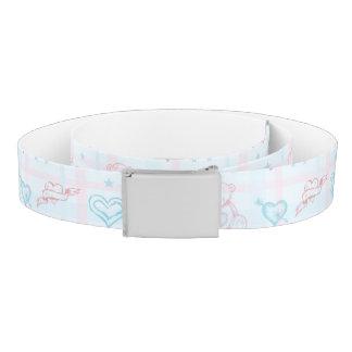baby pattern with teddy bear belt