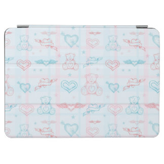 baby pattern with teddy bear iPad air cover