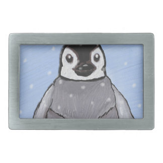 Baby penguin. belt buckles