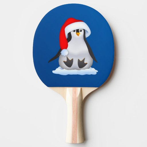 Baby Penguin Ping-Pong Paddle