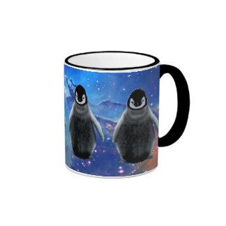 BABY PENGUIN & STARS Wildlife Supporter Coffee Mug