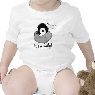 Baby Penguin Romper