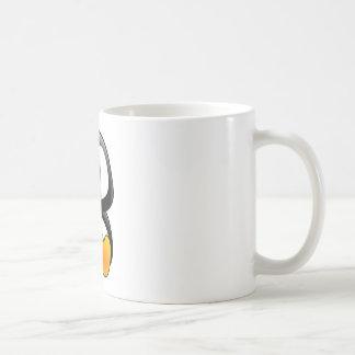 baby penguin tux coffee mug