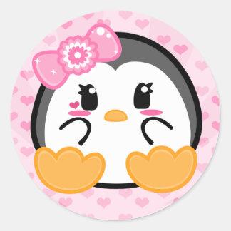 Baby Penquin - Girl Sticker