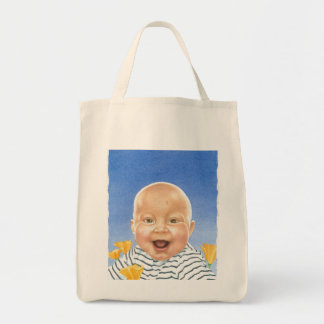 BABY PEPPER GROCERY TOTE BAG