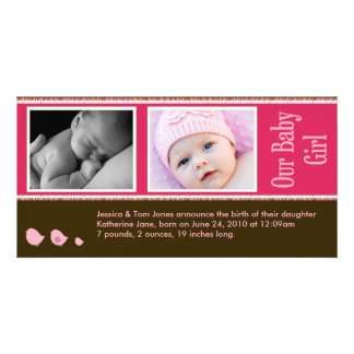 Baby Photo Announcement Photo Cards