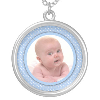 Baby Photo Necklace