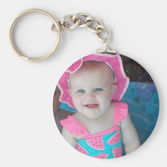 Baby Photo Personalised Key Chain