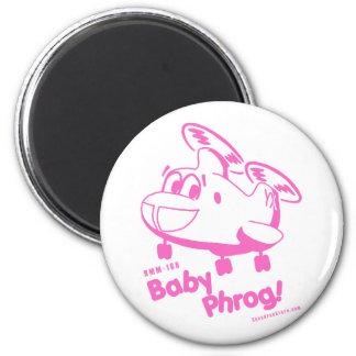 Baby Phrog -  nk 6 Cm Round Magnet