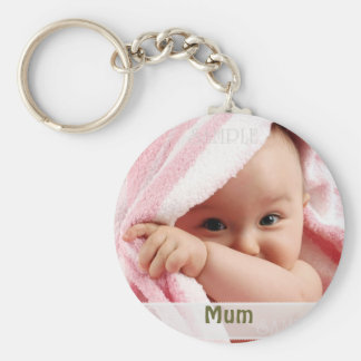 Baby Picture For Mum Key Ring Gift Keychains