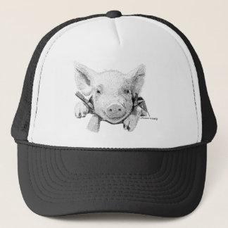 Baby Pig Trucker Hat