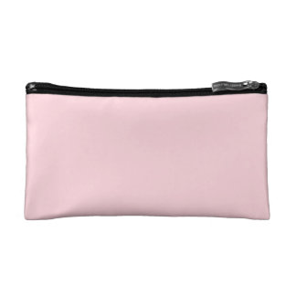 Baby pink cosmetic bags