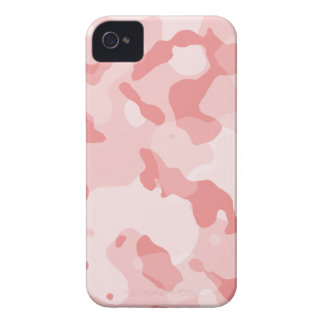 Baby Pink Camo; Camouflage iPhone 4 Cases