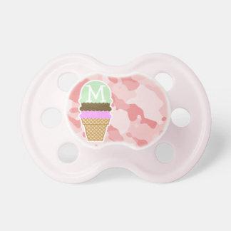Baby Pink Camo; Ice Cream Cone Dummy