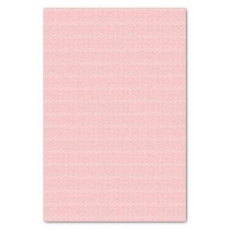 Baby Pink Cross Stitch Pattern Tissue Paper