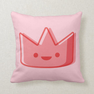 Baby Pink Crown Cushion