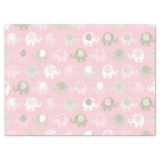 Baby Pink Elephant Tissue Paper