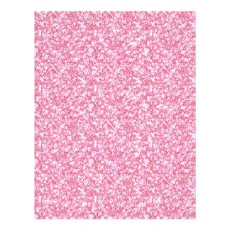 Baby Pink Glitter Printed 21.5 Cm X 28 Cm Flyer
