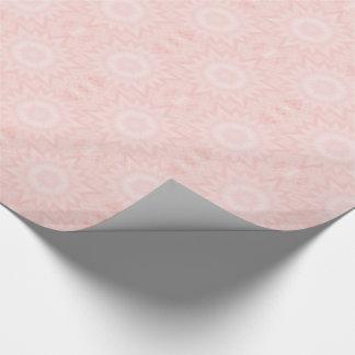 Baby pink kaleidoscope tiled paper