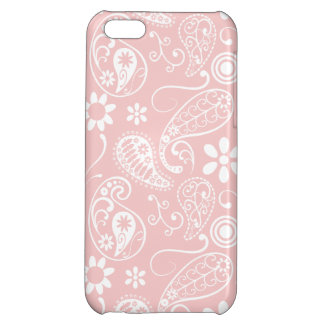 Baby Pink Paisley Cover For iPhone 5C