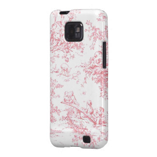 Baby Pink Toille electronic covers Samsung Galaxy SII Case