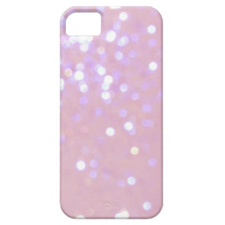 Baby Pink White Glitter iPhone 5 Cover