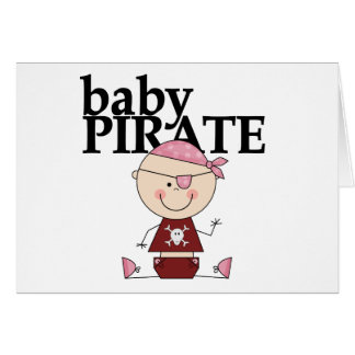 Baby Pirate - Girl Tshirts and Gifts Card