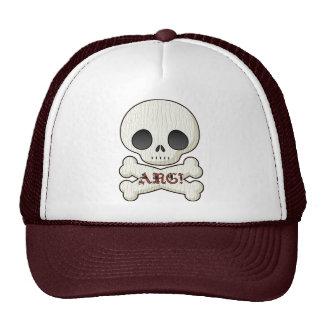 Baby Pirate Skull & Cross Bones Hat