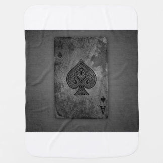 Baby playing card buggy blanket