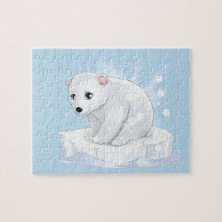 Baby Polar Bear Game Puzzle
