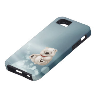 Baby polar bear iPhone 5 cover