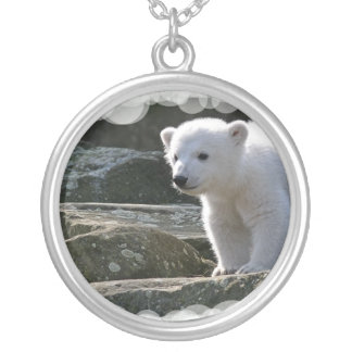 Baby Polar Bear Necklace