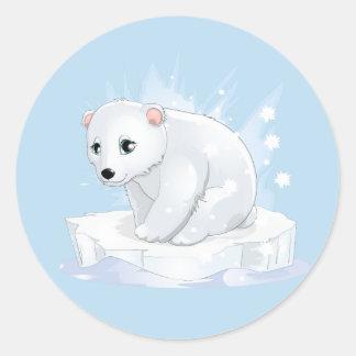 Baby Polar Bear Stickers