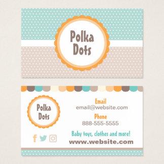 Baby Polka Dots Business Card