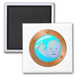 baby porthole magnet