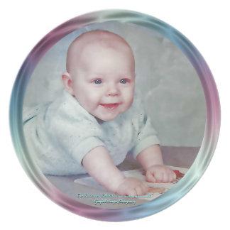 Baby Portrait Party Plates