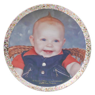 Baby Portrait Plate