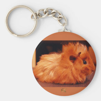 Baby Powder Puff - Guinea Pig Key Ring