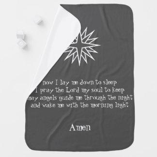 baby prayer blanket