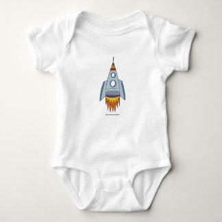 Baby Pride | Rocket | Rainbow colours Baby Bodysuit