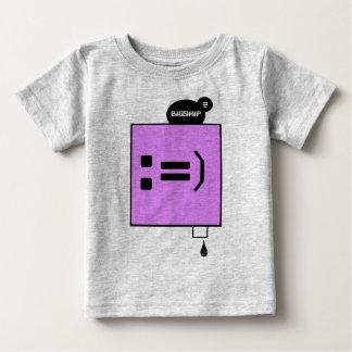 BABY PURPLE FACE DRIP BABY T-Shirt