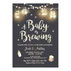 Baby Q invitation Coed BBQ Baby brewing shower