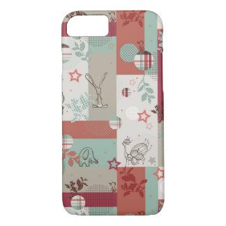 Baby Quilt Pattern 2 iPhone 8/7 Case
